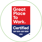 GreatPlacetoWork Certified